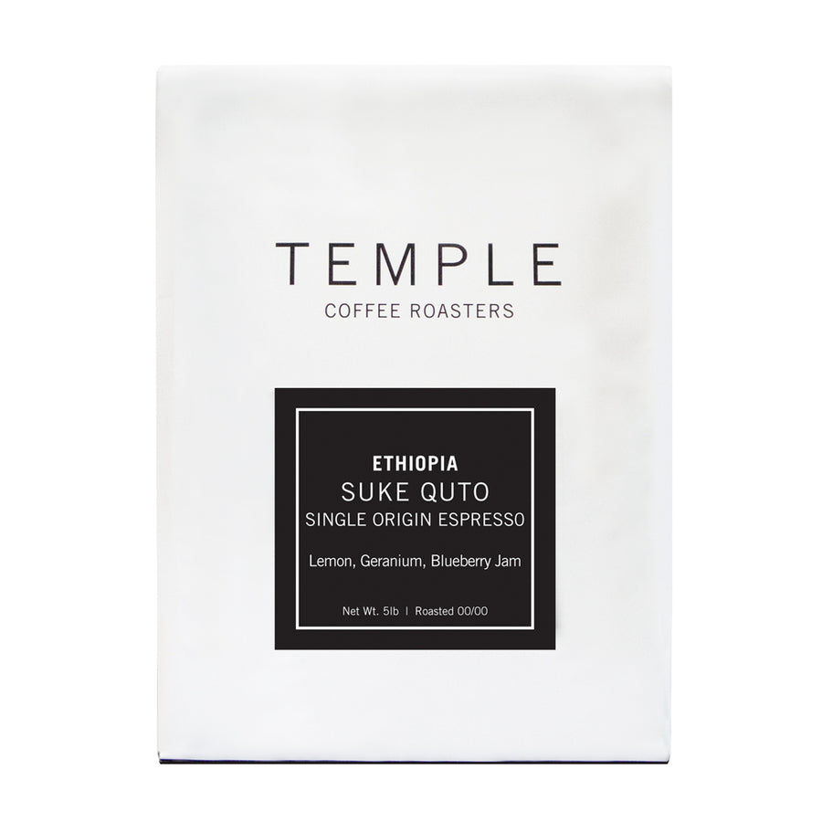 Ethiopia Suke Quto Single Origin Espresso