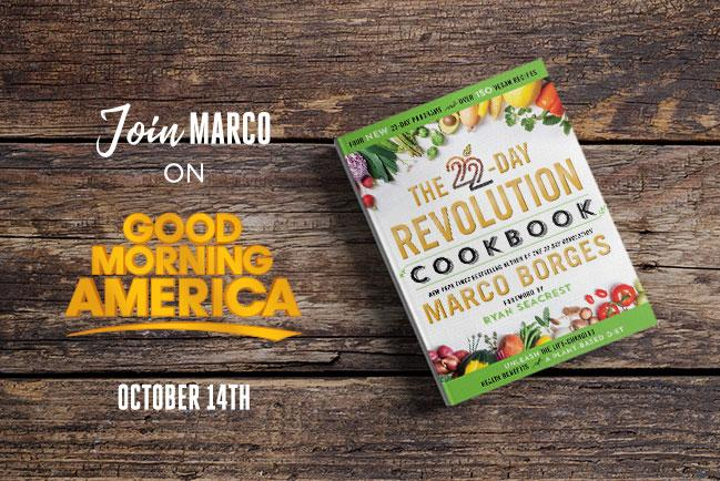 Join Marco on Good Morning America