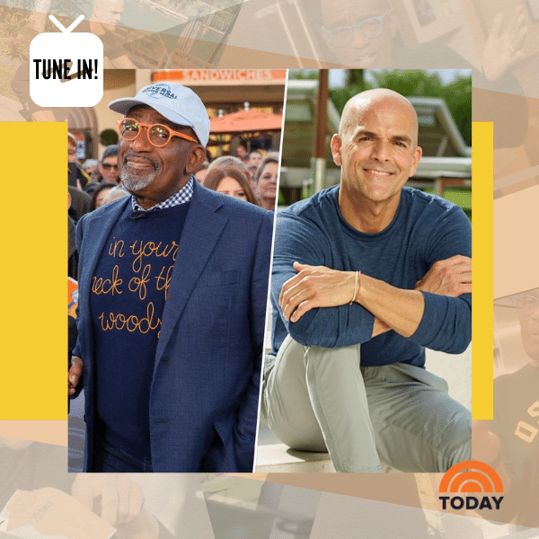 22 Days Founder, Marco Borges & Al Roker talk about how to be healthier in 2021!