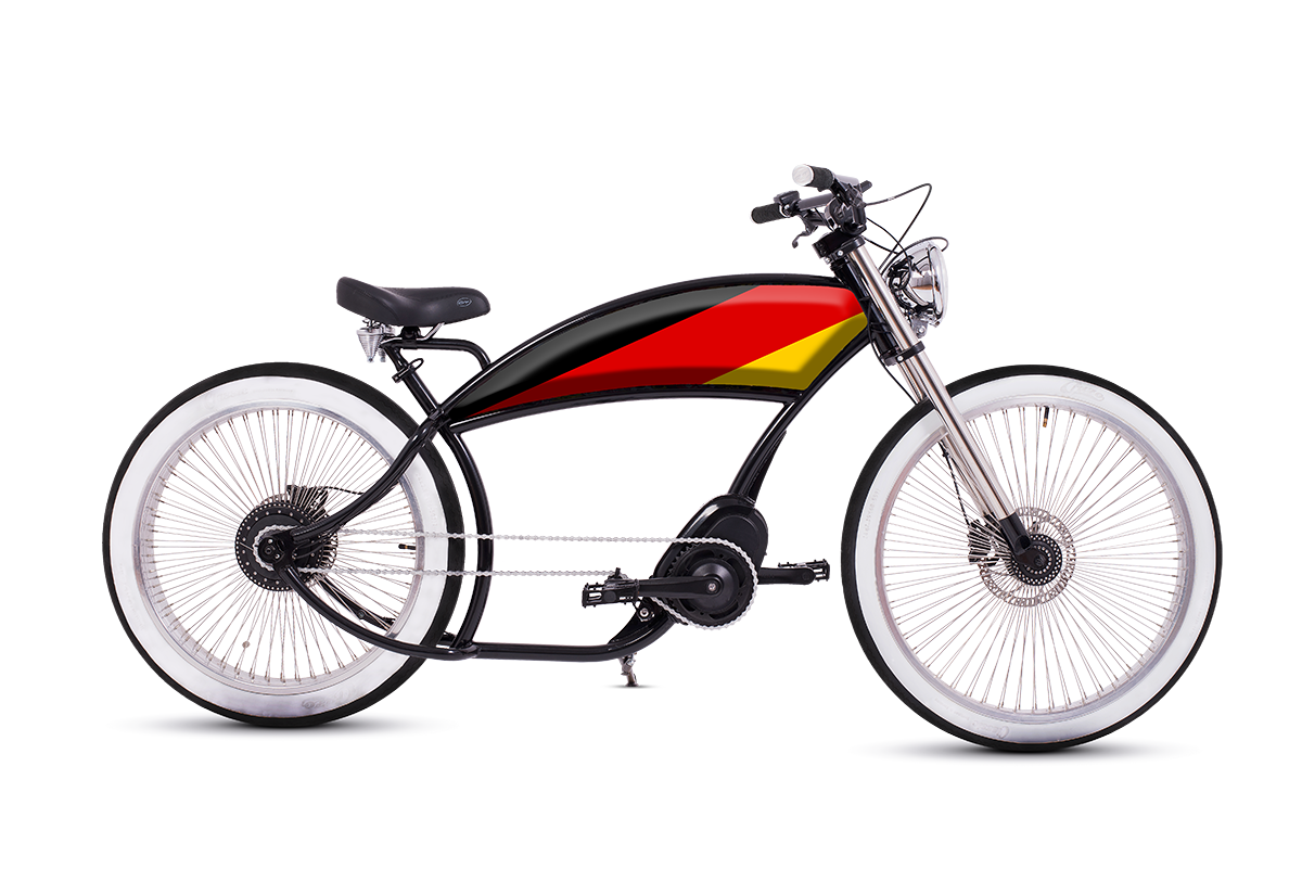 """El Padrino"" Electric Chopper Bike"
