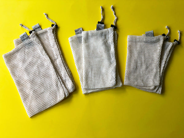 Reusable Mesh Produce Bags - Set of 10