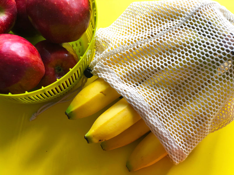 Reusable Mesh Produce Bags - Set of 6