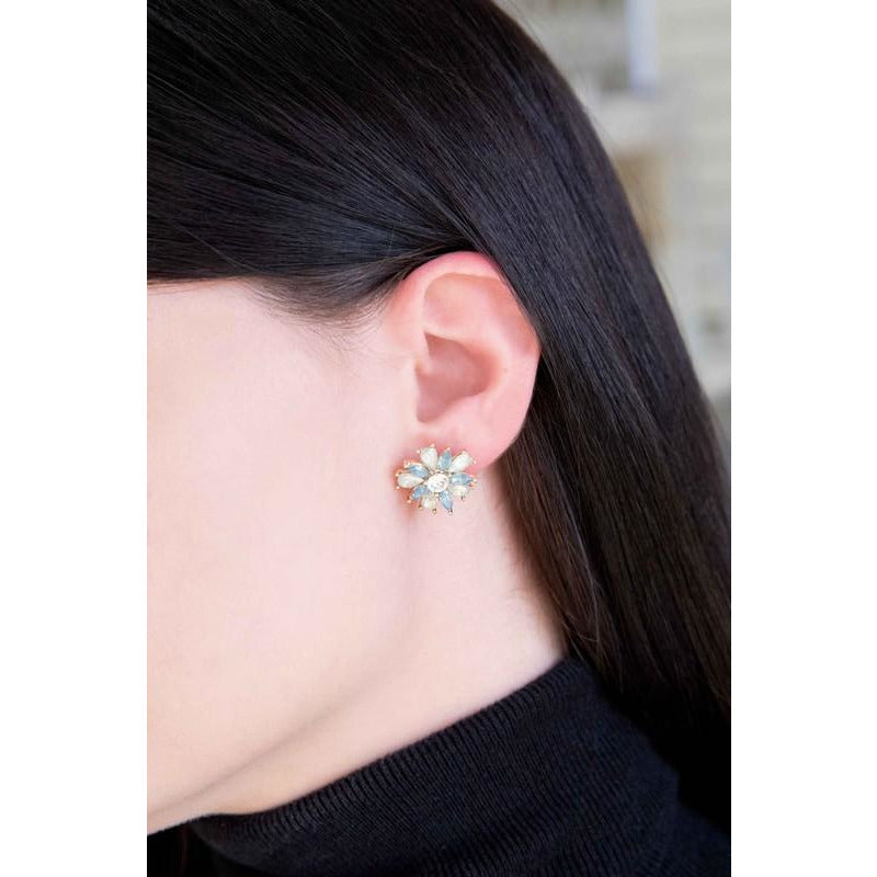 Amaryllis Flower Earrings