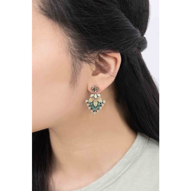 Hyacinth Ear Jacket Earrings