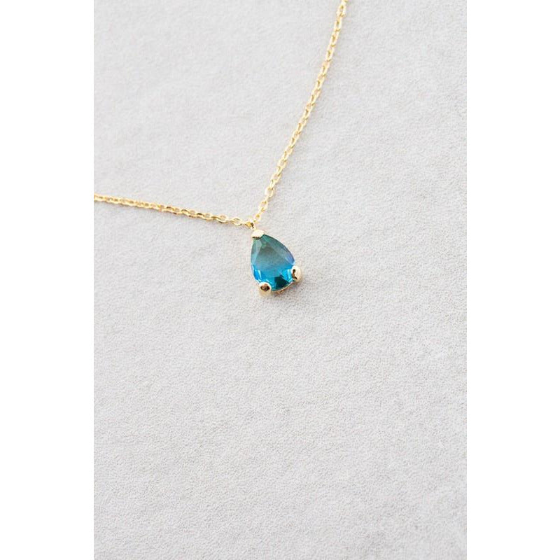 Tear Stone Necklace