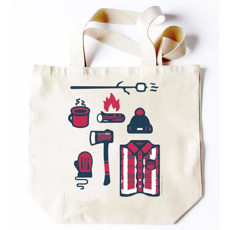 Lumberjack Objects Tote