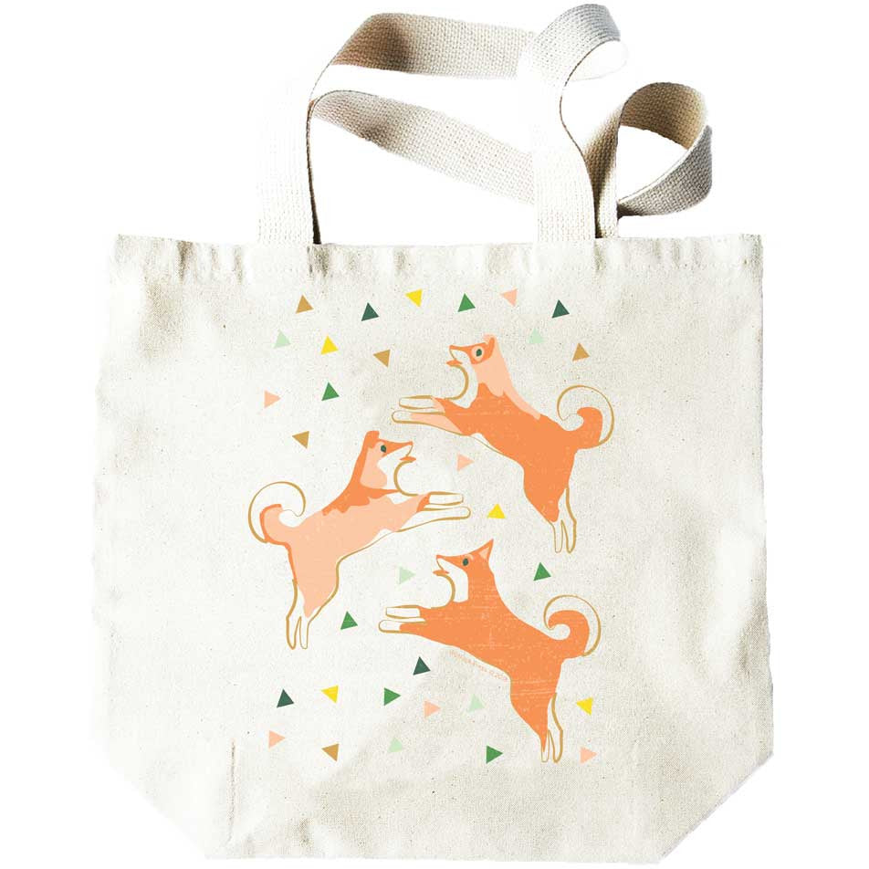 Dogs and Triangles Tote