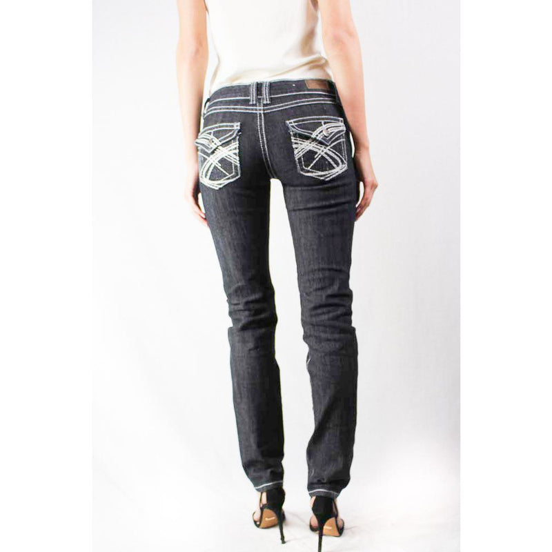 Charcoal Washed Denim Jeans