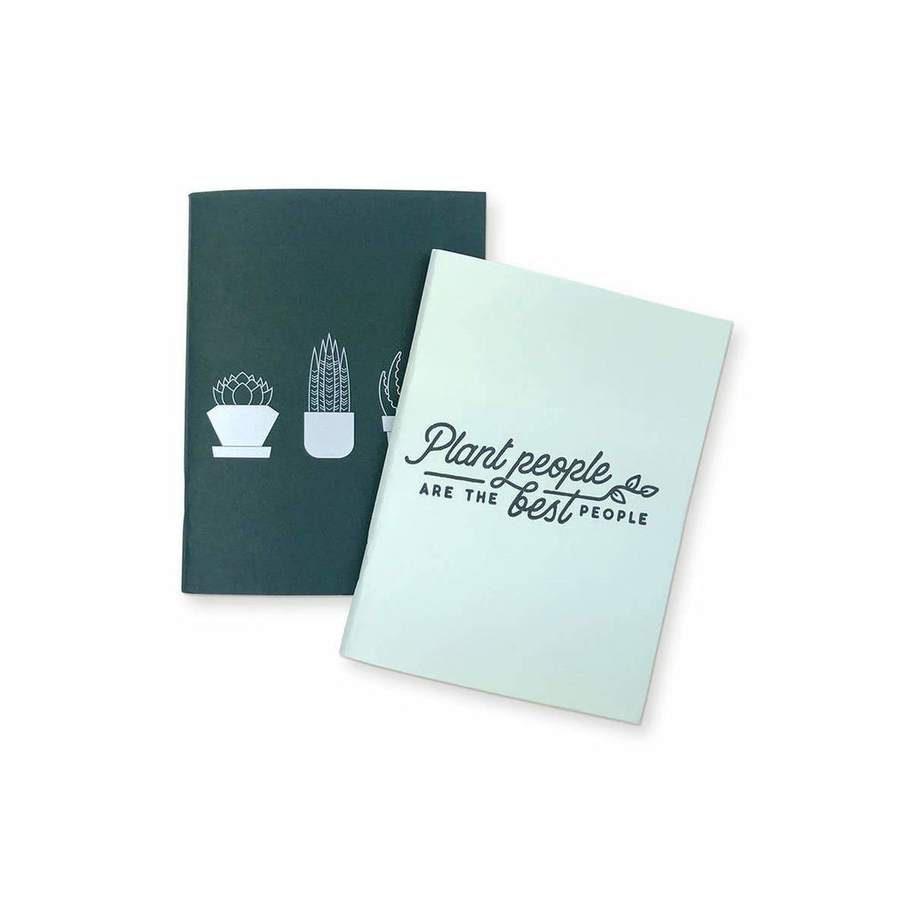 Succulent Plant People Set of 2 Pocket Notebooks