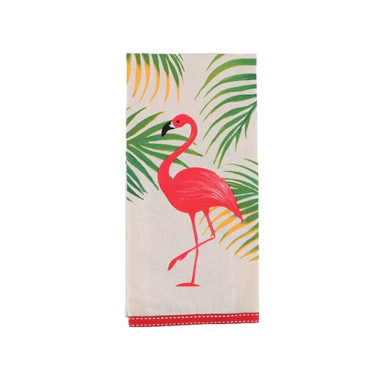 Flamingo Dish Towel