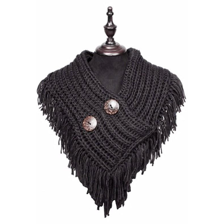 Knitted Fringe scarves