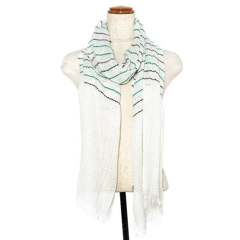 Stripped Oblong Scarf