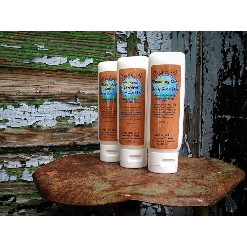 Good Earth Soy Lotions