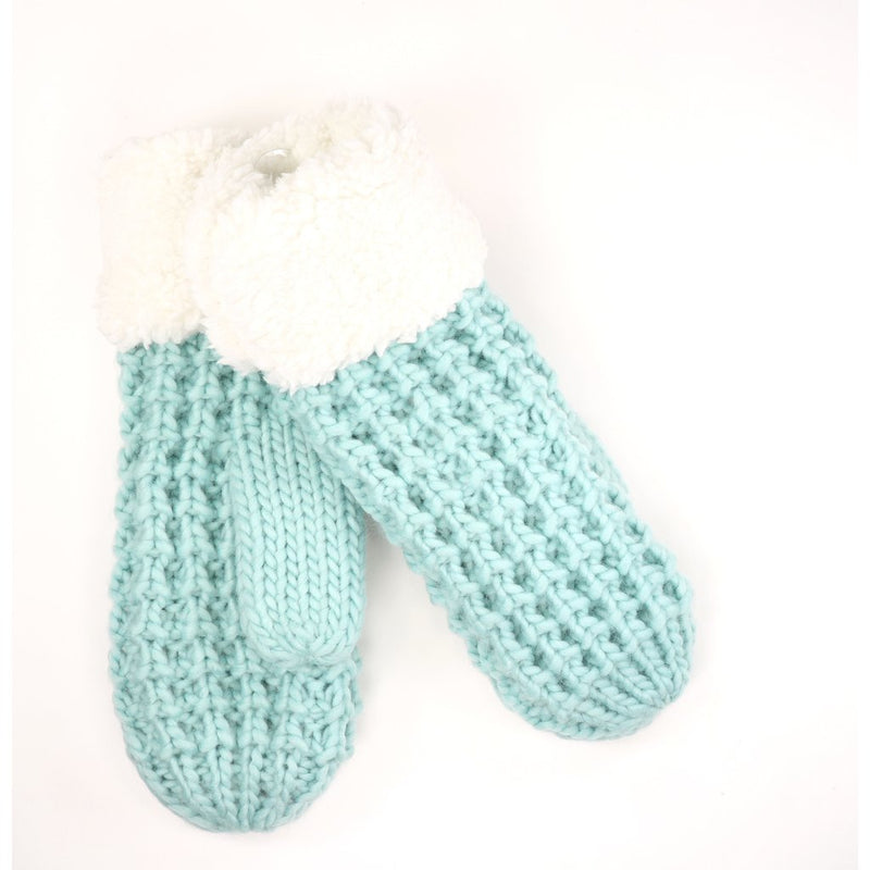 Sherpa Lined Mittens