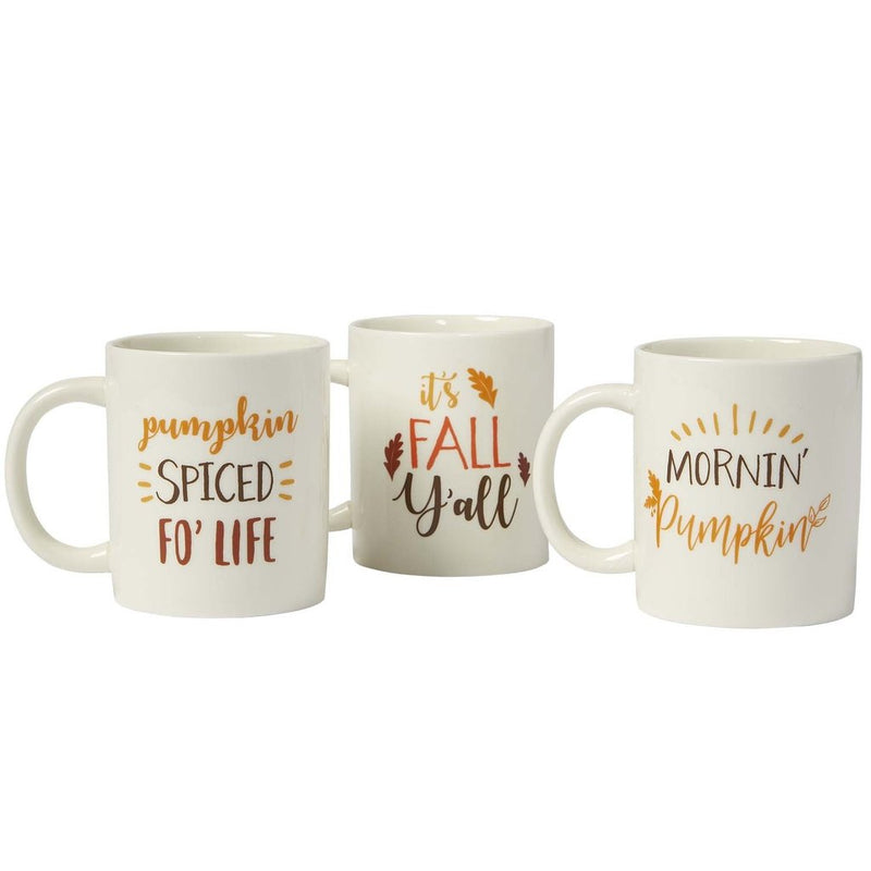 Mornin' Pumpkin Mugs