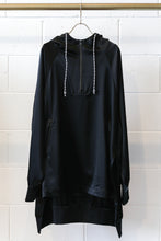 Load image into Gallery viewer, ADS-W CH3 Tech Silk Hooded Top - Black