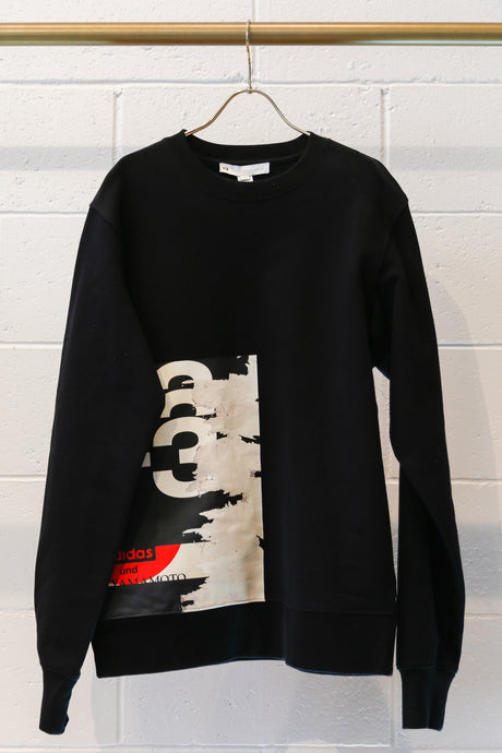 Y-3 M CH1 GFX CR Sweatshirt - Black
