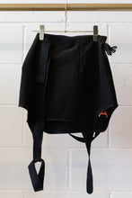 Load image into Gallery viewer, Hyein Seo Garter Skirt w/ Strap-BLK