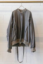 Load image into Gallery viewer, Hyein Seo Aviator Bomber Jacket-Grey