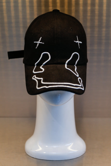 XXXSCOFF FACE Scoff Baseball deep cap - Black