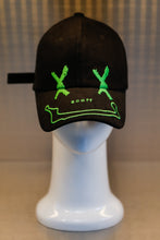 Load image into Gallery viewer, XXXSCOFF Face Scoff XX logo Cap - Green