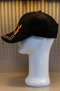 XXXSCOFF Face Scoff XX logo Cap - Orange