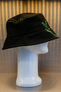 XXXSCOFF Face Scoff xx Logo bucket hat-Green