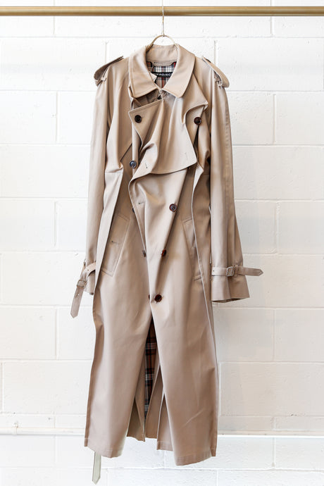 Y-Project Pop-up Trench Coat-BEG