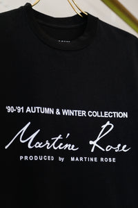 Martine Rose SS20 Classic S/S T-Shirt-BLK