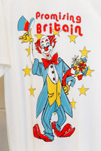 Load image into Gallery viewer, Martine Rose T-shirt W/ Clown Artwork -WHT