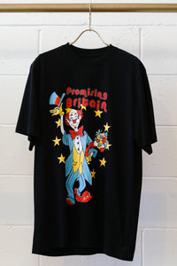 Martine Rose T-shirt W/ Clown Artwork -BLK