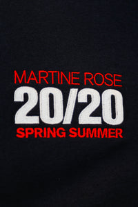 Martine Rose SS20 Classic Crew-NVY