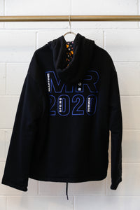 Martine Rose Hoodie Reversible 20/20 Artwork-BLK