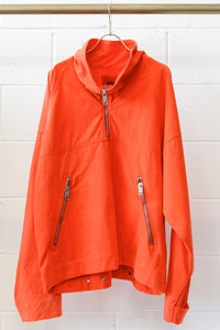 424 CANVAS ANORAK, ORANGE