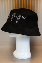 Load image into Gallery viewer, XXXSCOFF Big logo scoff outline bucket hat-Black