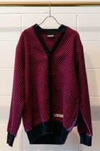 Load image into Gallery viewer, Pleasures Alliance Checkered Cardigan-Multi