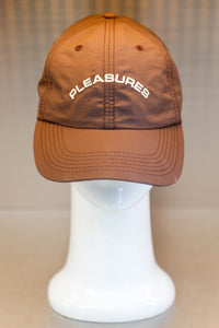 Pleasures Destiny Nylon Polo Cap-Brown