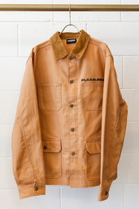 Pleasures Spike Chore Jacket-Khaki