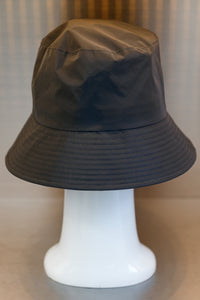 XXXSCOFF Reflective Scoff patching rubber bucket hat-Black