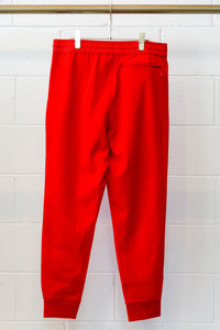 Y-3 M Classic Cuffed Track Pants-Red