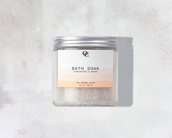 Bath Soak / Frankincense & Orange