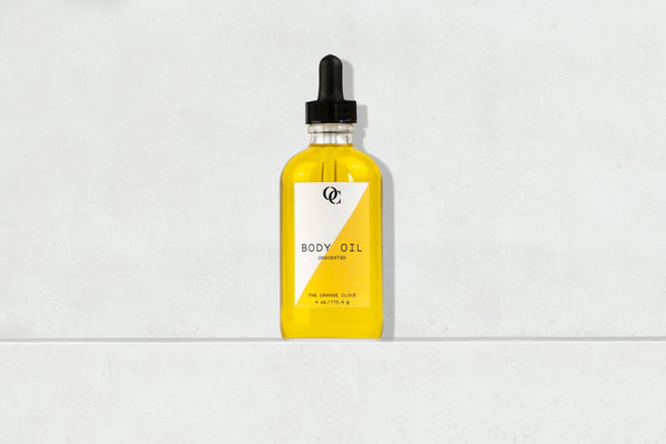 Unscented Body Oil