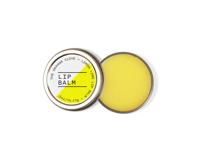 Lemon Lime Lip Balm - Reduced Price