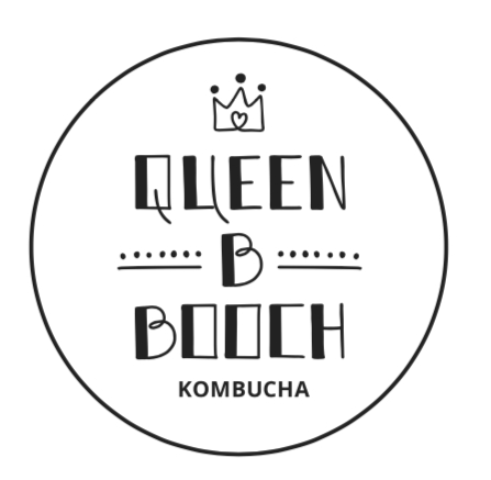 Queen B Booch Sticker Large