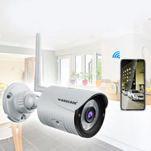 Load image into Gallery viewer, WANSCAM K22 Wireless WiFi / Motion Detection Alarm / Waterproof IP66 / Triple Digital Zoom / HD Infrared Night Vision Network Surveillance Camera