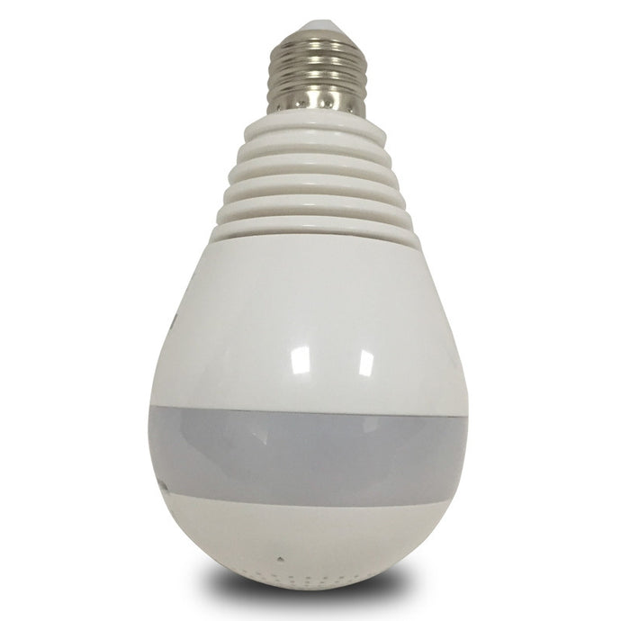 960P IR LED Bulb Cam 360 Degree 1.3 MP WiFi Wireless P2P Night Vision Security Panoramic IP Camera V380