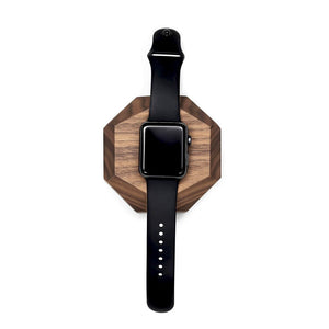 Apple watch handcrafter solid wood dock