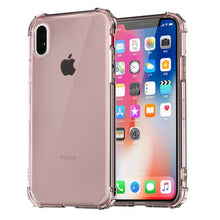 Load image into Gallery viewer, Heavy Duty Protection Case For iPhone 11 Pro Max X XS Max Four Corner Strengthen Silicon Clear Cover For iPhone XR 6 6S 7 8 Plus