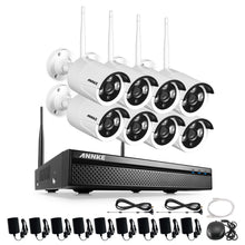 Load image into Gallery viewer, 720P HD Wi-Fi Wireless CCTV Network Video Security System