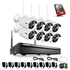 720P HD Wi-Fi Wireless CCTV Network Video Security System